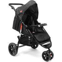 Carrinho De Bebê 3 Rodas New Twist Ref.Cc606C - Dardara-Cinza