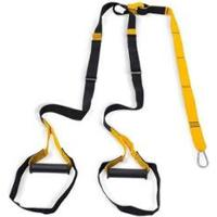 Fita Suspensao Funcional Tipo Trx Exercício Kit Be Stronger - Unissex-Preto+Amarelo