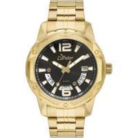 Relógio Condor Masculino Ferragens - Co2415Bl/4P Co2415Bl/4P - Masculino-Dourado