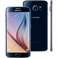 "Smartphone Samsung Galaxy S6 - 64Gb - Octa Core - Câmera 16Mp - Super Amoled 5.1"" - Android 5 - Preto"