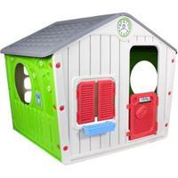 Casinha De Brinquedo Infantil Portatil Bel Brink - Unissex-Cinza