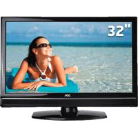 "Tv Lcd Aoc 32"" Widescreen Lc32W053 - Hdmi E Usb - Hdtv - Conversor Digital"