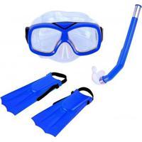 Kit Infantil De Mergulho E Snorkel Nautika Divers - Unissex