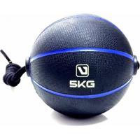 Bola De Peso Medicine Ball Com Corda 5Kg - Liveup Ls3006E/5