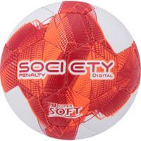 3b08f169e5 Bola Society Penalty Digital Cc Vii - Branco Vermelho