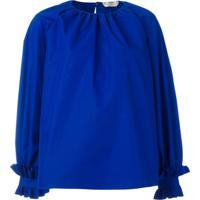 Fendi Blusa Oversized - Azul