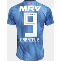 b3dc2f2b68 Netshoes  Camisa Flamengo Iii 2018 N° 9 Gabriel B. - Torcedor Adidas  Masculina - Masculino