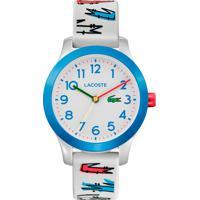 Relógio Lacoste Infantil Borracha Branca - 2030021