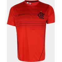 Camiseta Flamengo Dribble Masculina - Masculino-Vermelho