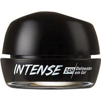 Delineador Intense 24H Del Gel Preto Blackout Rk By Kiss - Feminino-Preto