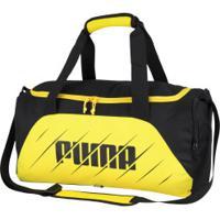 Mala Puma Play Pequena - Amarelo/Preto