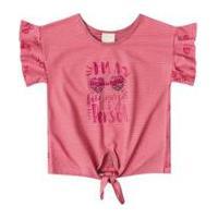 Blusa Bebê Quimby Estampada Feminina - Feminino