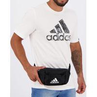 Pochete Adidas Logo Preta