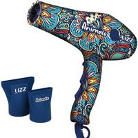 Secador Ionic 3800 Animale- Azul Marinho & Branco- 2Lizz