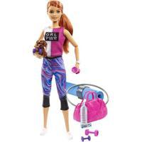 Boneca Barbie - Barbie Fashionista - Dia De Spa Fitness - Mattel