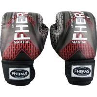 17e655e5f Netshoes  Kit Boxe Muay Thai Fheras Top - Luva Bandagem Bucal Caneleira  Shorts - Unissex