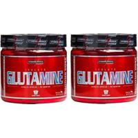 Combo 2 Glutamina Powder Isolate - Natural 300G - Integralmédica - Unissex