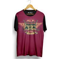 Camiseta Dep Rádio Vinho