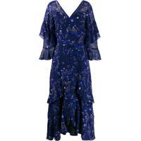 Three Floor Vestido Fantasy Com Estampa De Estrela - Azul