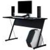 Mesa Para Computador Notebook Pc Gamer Kombat F01 Preto - Lyam Decor