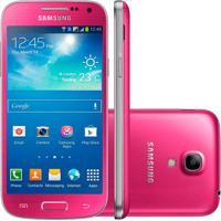 "Smartphone Samsung Galaxy S4 Mini I9192 Duos - Rosa - 8Gb - 4.3"" - Câmera 8Mp"