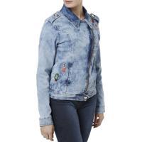 Jaqueta Jeans Vgi Azul