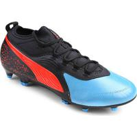 3fc29a1376 Netshoes; Chuteira Campo Puma One 19.3 Fg - Masculino