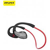 Fone De Ouvido Bluetooth Earphone Awei A880Bl - Vermelho