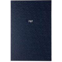 Caderno Frases Pqp Com Pauta - Azul