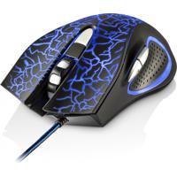 Mouse Gamer Multilaser Óptico, Usb 3D, 2400Dpi, 6 Botões, 4 Cores Em Led - Mo250