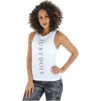 Camiseta Regata Nike Miler Tank Jdi - Feminina - Branco