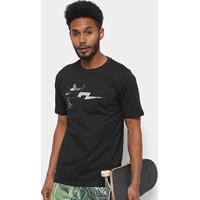 Camiseta Seven Brand Bolt Sonn Prive Masculina - Masculino-Preto