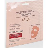 Máscara Facial Firmadora Belliz 1 Unidade - Feminino-Branco