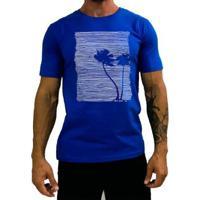 Camiseta Básica Mxd Conceito Palmeira Tree Masculina - Masculino