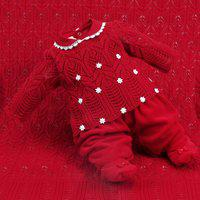 Saída De Maternidade Beth Bebê Plush Sophia Luxo Vermelho