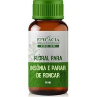 Floral Para Insônia E Parar De Roncar - 30 Ml