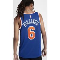 Camiseta Regata Nike New York Knicks Icon Edition Swingman Masculina