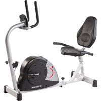 Bicicleta Ergométrica Horizontal Magnética Mag 5000H, Painel Multifunções, Sensor Cardíaco, Manoplas Com Espuma Anti Anderente - Dream