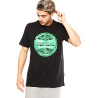 Camiseta Drop Dead Genuine Weed Preta