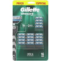 Refil Carga Gillette Mach3 16 Unidades