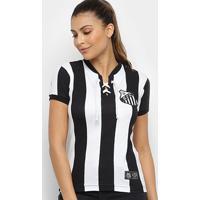 Camisa Santos Cordinha Retrô Mania Feminina - Feminino