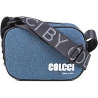 Bolsa Colcci Crossbody Fitness Feminina - Feminino-Azul
