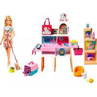 Boneca Barbie Pet Shop
