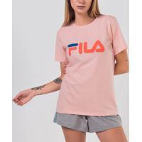Camiseta Fila Basic Letter Ls180466