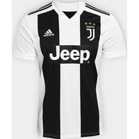 Camisa Juventus Home 2018 S/N° - Torcedor Adidas Masculina - Masculino