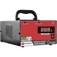 Carregador De Bateria Sentinela Profissional, Ca20/12V, Com Auxiliar