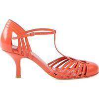 Sarah Chofakian Sapato De Couro - Amarelo