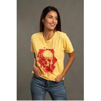 Camiseta Bossa Brasil Squashes Amarela