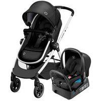 Carrinho Com Bebê Conforto Anna Trio Travel System Essential Black - Maxi-Cosi