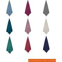 Cobertor Solteiro Microfribra Colorido 150X220 Cm